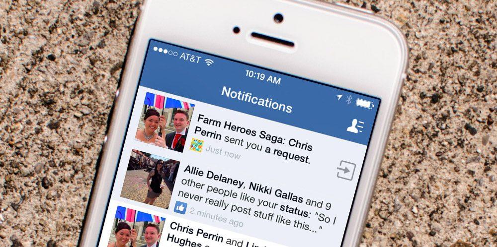 Cómo no recibir mensajes de juegos en Facebook