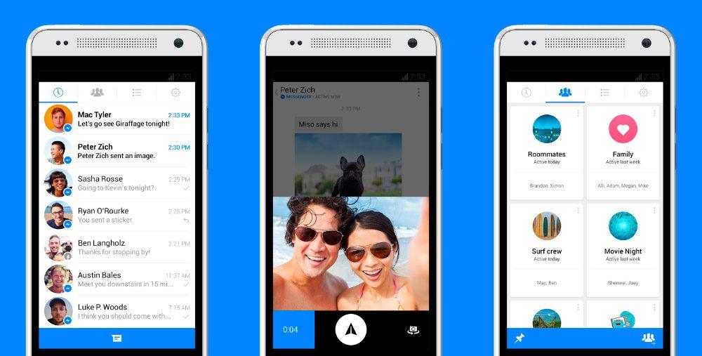 ¿Cómo usar el chat en Facebook Messenger?