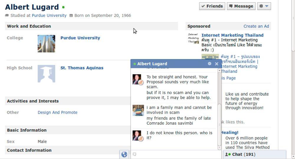 ¿Cómo usar el chat en Facebook?