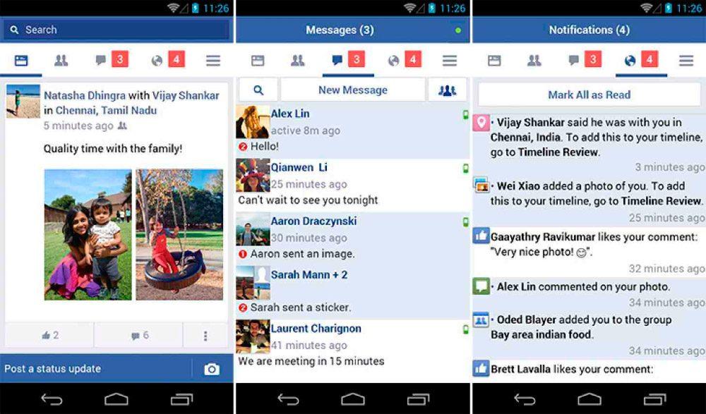 Facebook Lite para Android