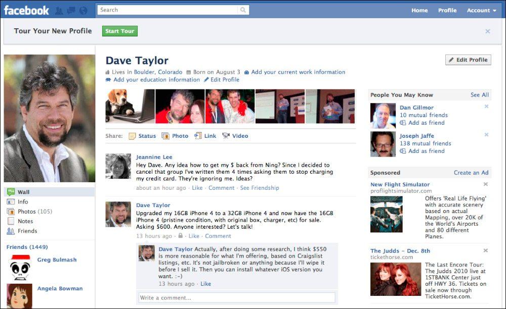 Fotos de perfil de Facebook