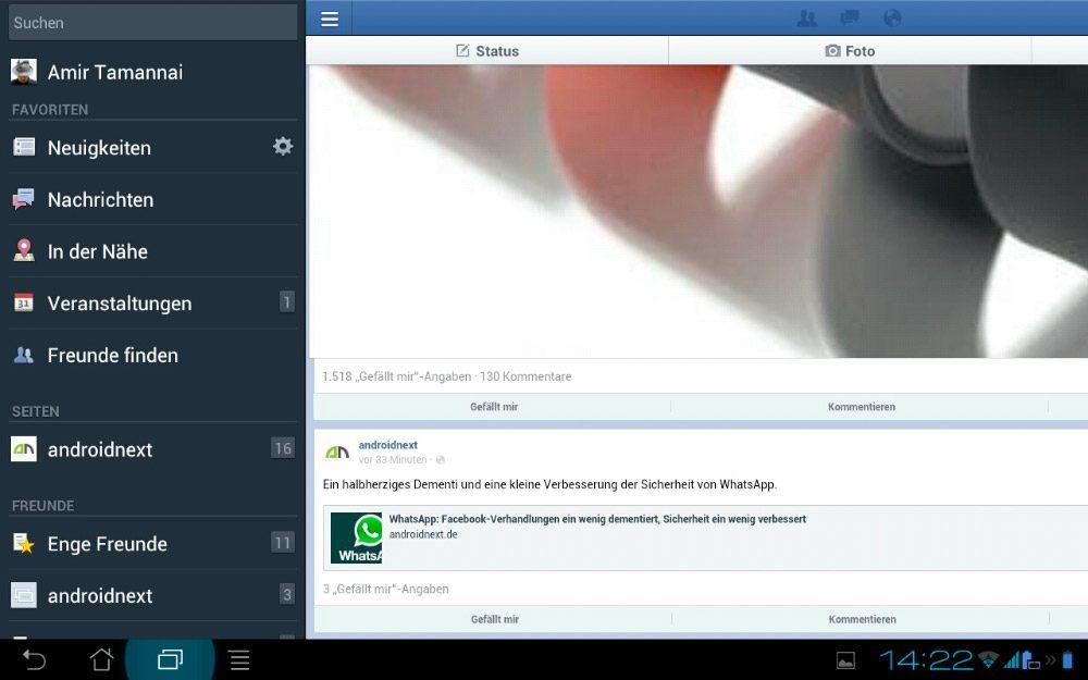 Instalar Facebook para tablets paso a paso