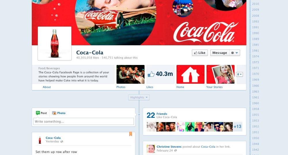 Páginas de Facebook para empresas